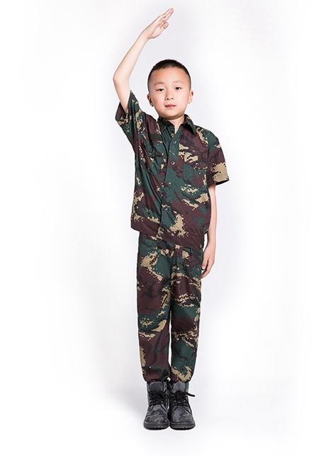 儿童特战短袖套装