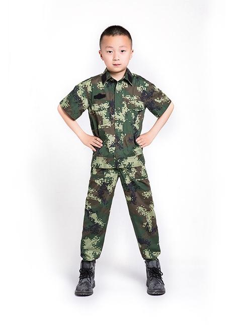 儿童武款短袖套装