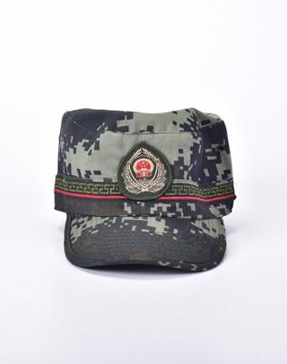 16武警作训帽